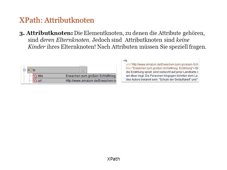 XPath: Attributknoten