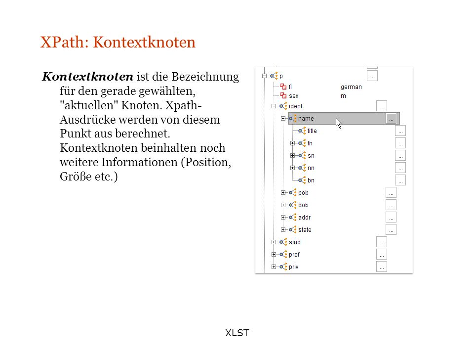 XPath: Kontextknoten