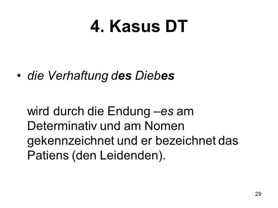 4. Kasus DT die Verhaftung des Diebes
