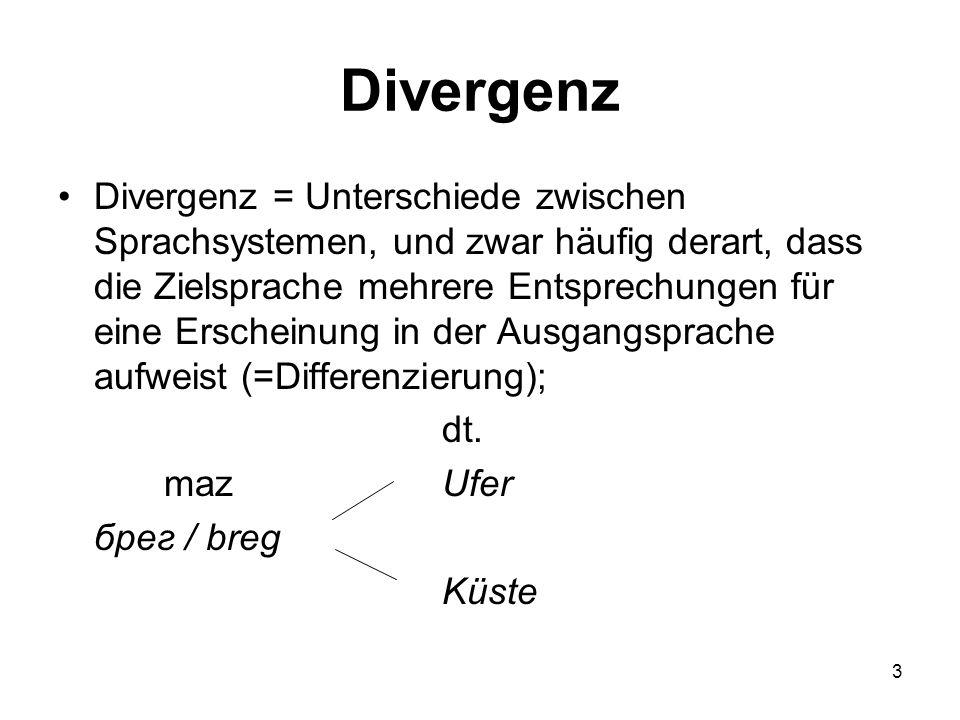 Divergenz