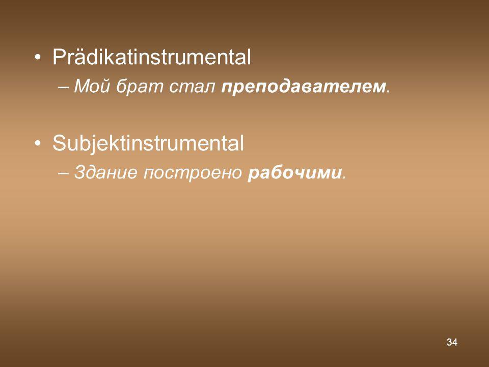 Prädikatinstrumental