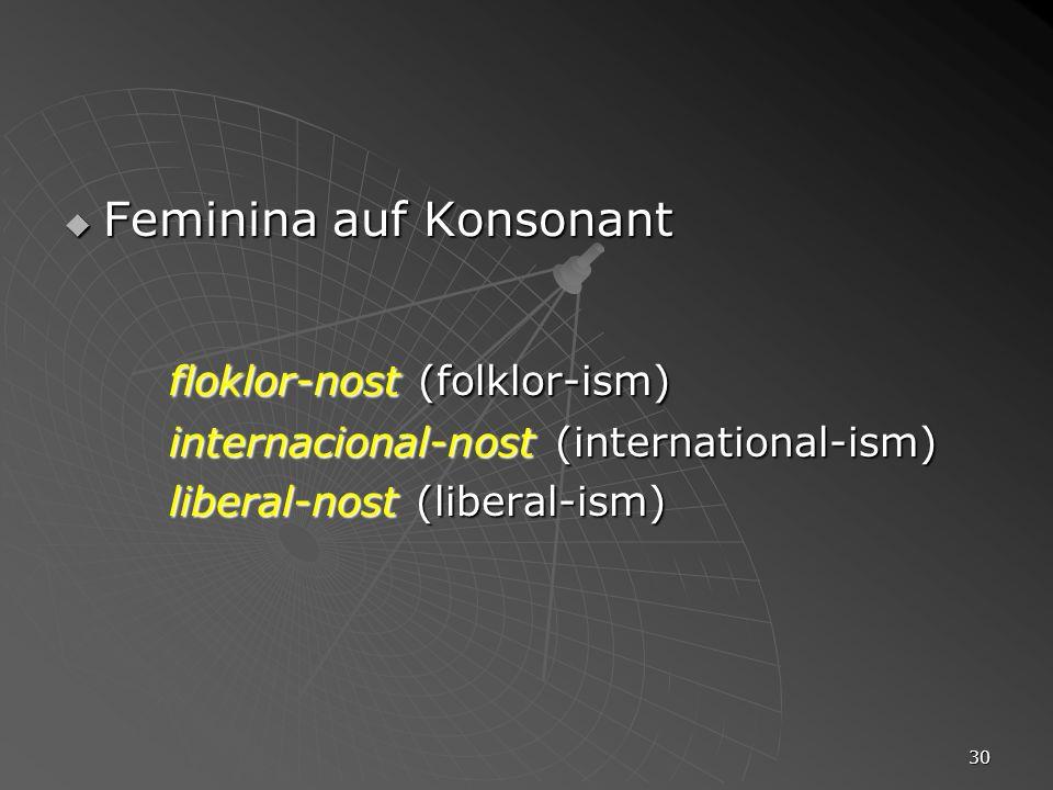 floklor-nost (folklor-ism)