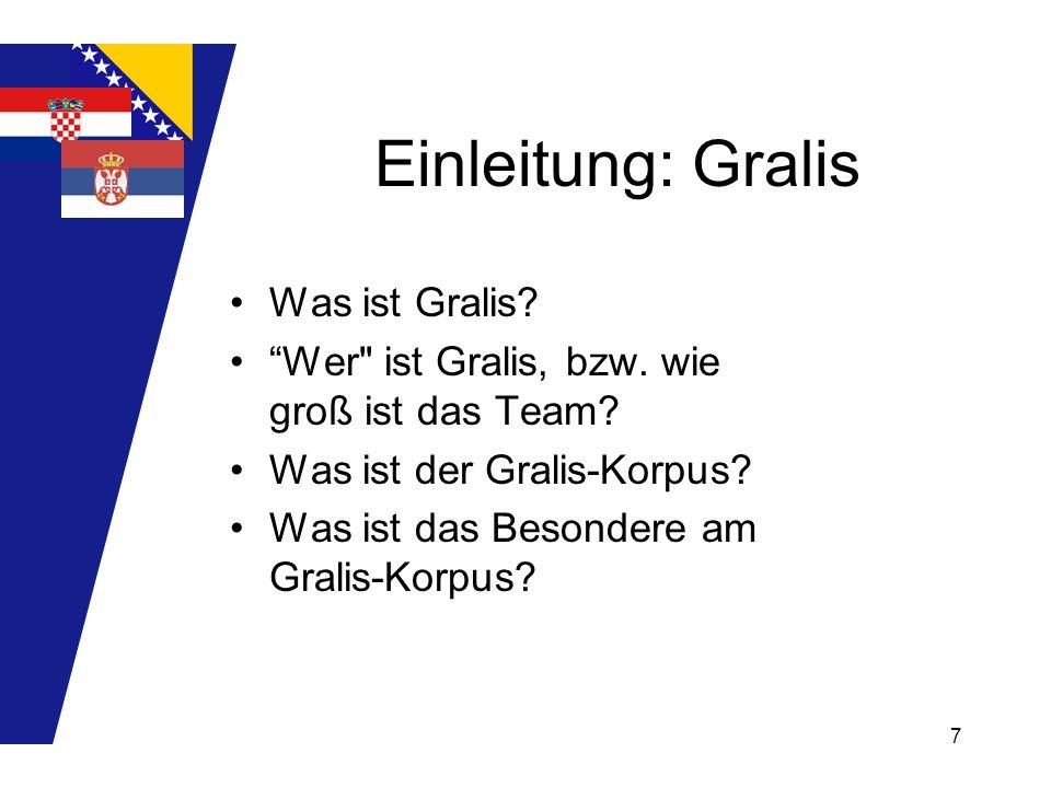 Einleitung: Gralis Was ist Gralis