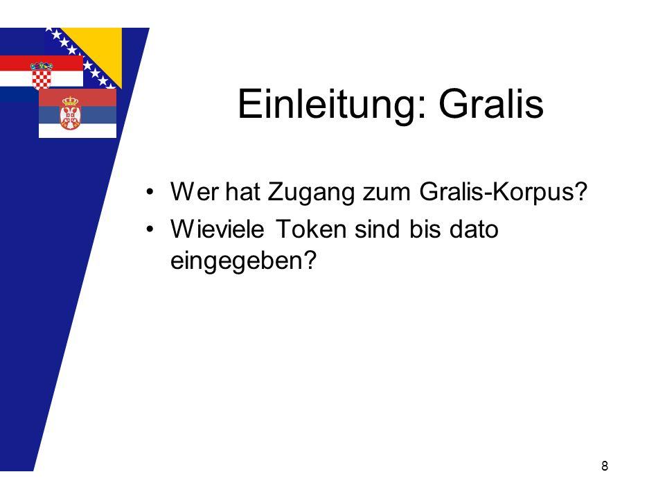 Einleitung: Gralis Wer hat Zugang zum Gralis-Korpus
