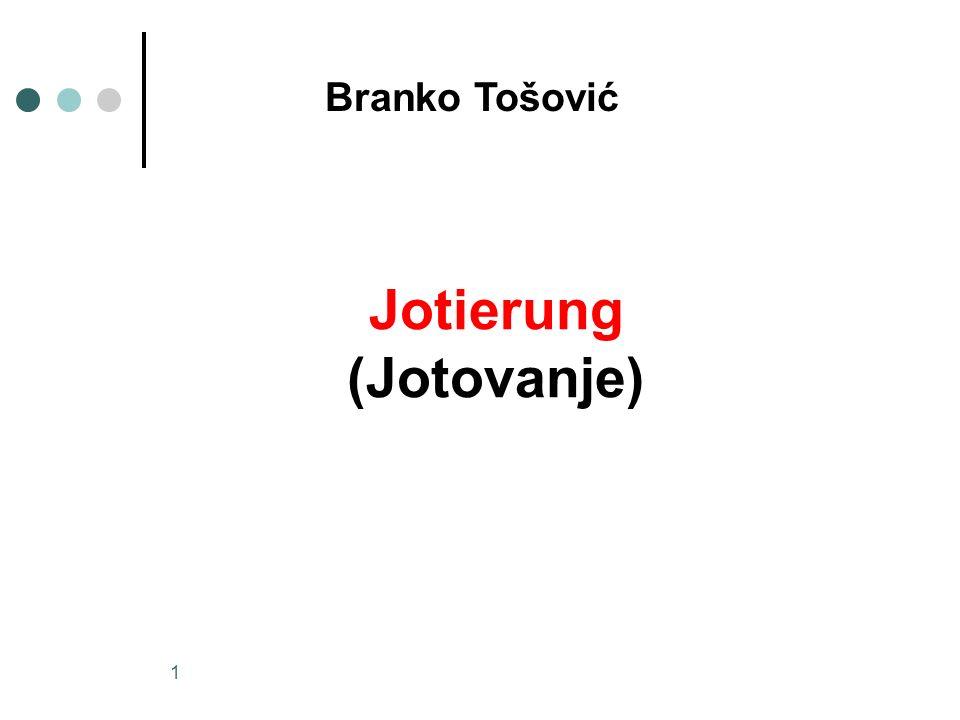 Jotierung (Jotovanje)