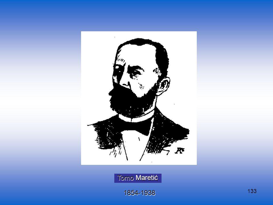 Tomo Maretić 1854-1938