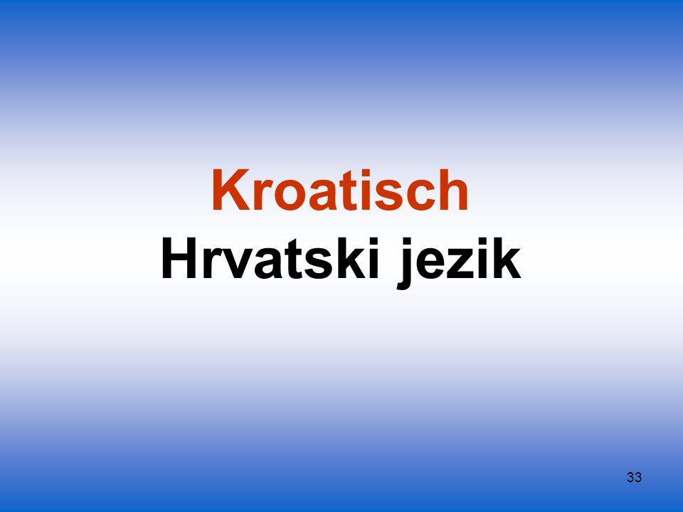Kroatisch Hrvatski jezik