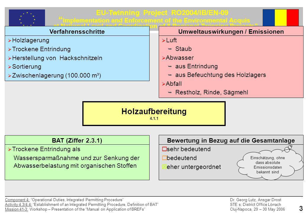 Holzaufbereitung 4.1.1 Verfahrensschritte Holzlagerung