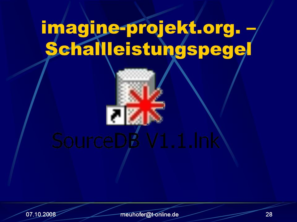 imagine-projekt.org. – Schallleistungspegel