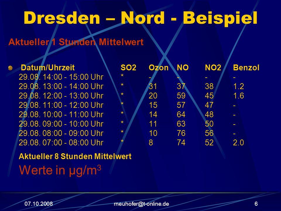 Dresden – Nord - Beispiel