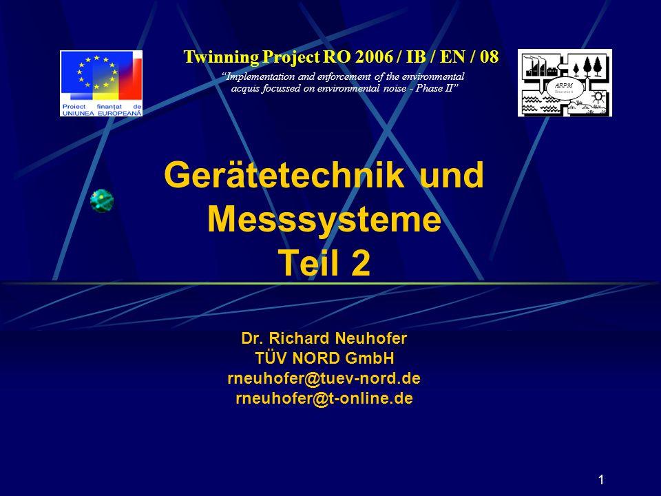 Twinning Project RO 2006 / IB / EN / 08