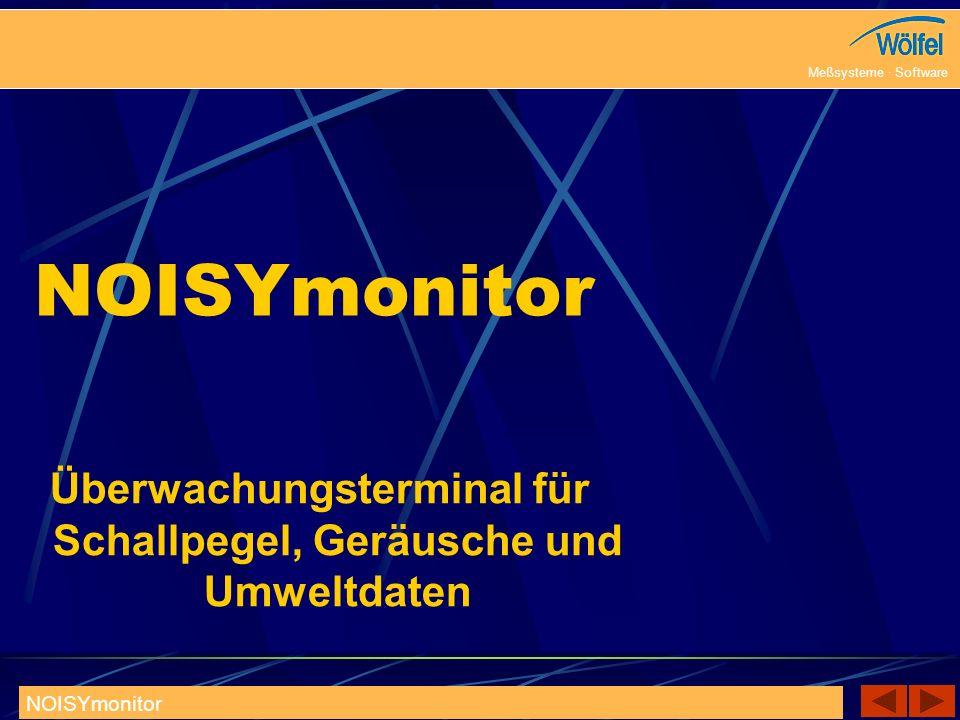 Überwachungsterminal für Schallpegel, Geräusche und Umweltdaten