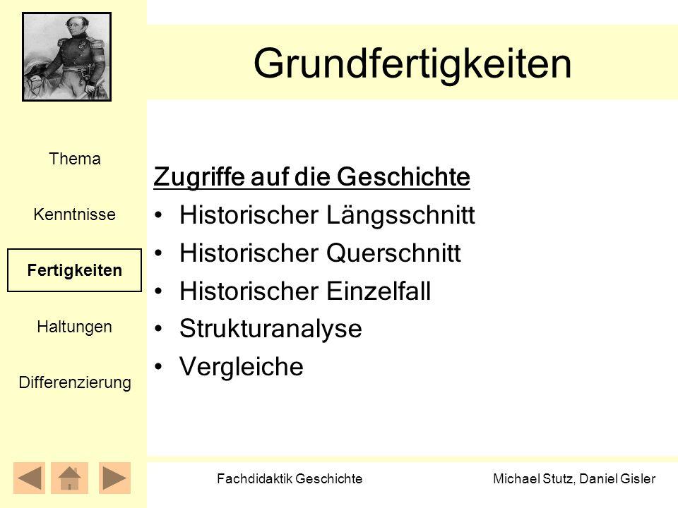 Fachdidaktik Geschichte
