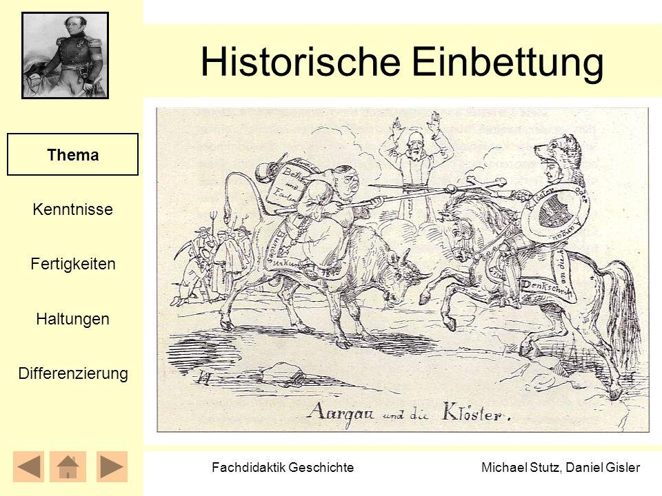 Historische Einbettung