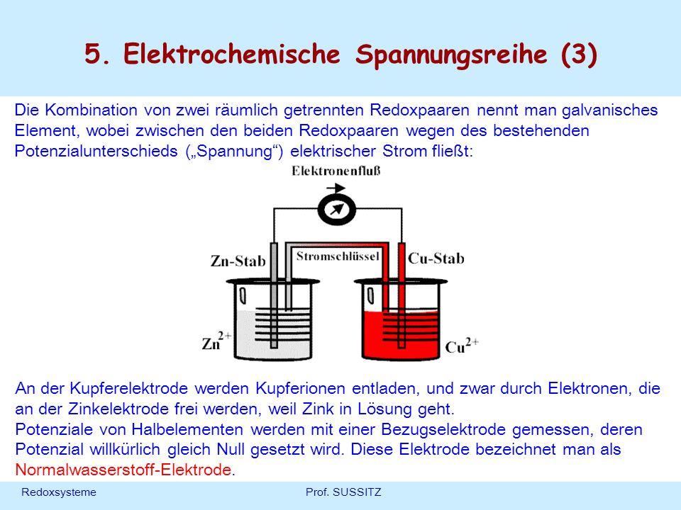 5. Elektrochemische Spannungsreihe (3)