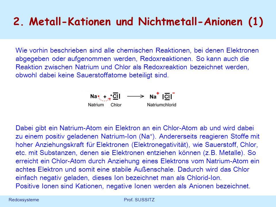 2. Metall-Kationen und Nichtmetall-Anionen (1)