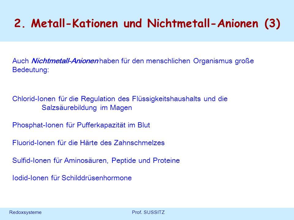 2. Metall-Kationen und Nichtmetall-Anionen (3)