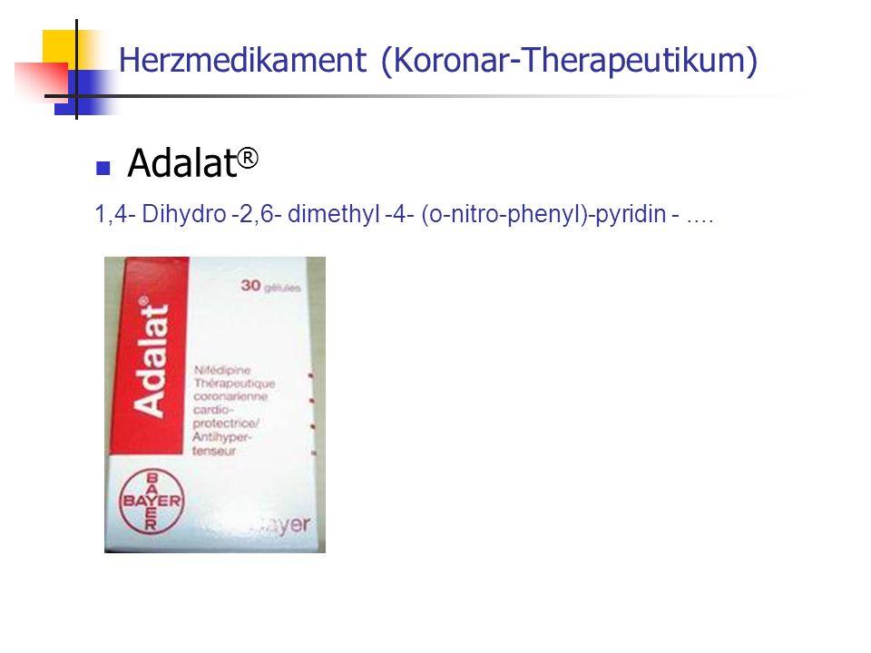 Herzmedikament (Koronar-Therapeutikum)