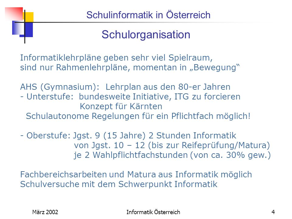 Informatik Österreich