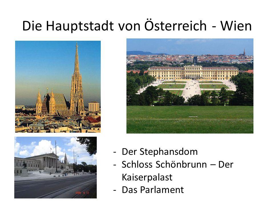 Die Hauptstadt von Österreich - Wien