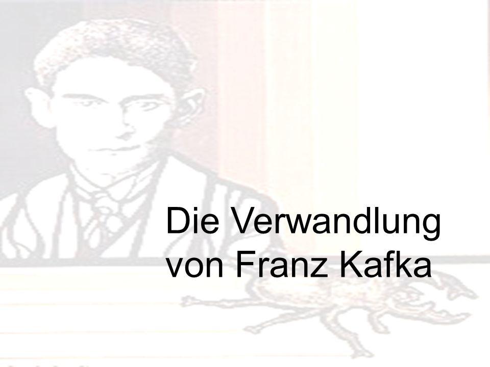 Die Verwandlung von Franz Kafka