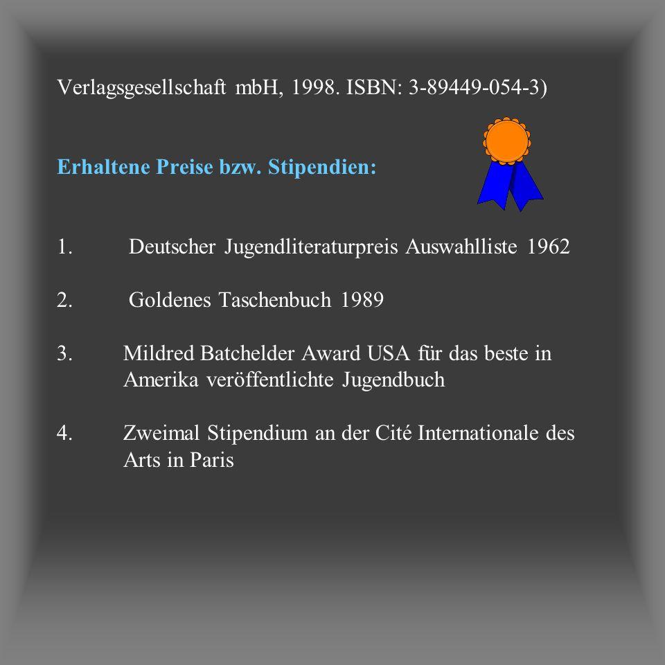 Verlagsgesellschaft mbH, 1998