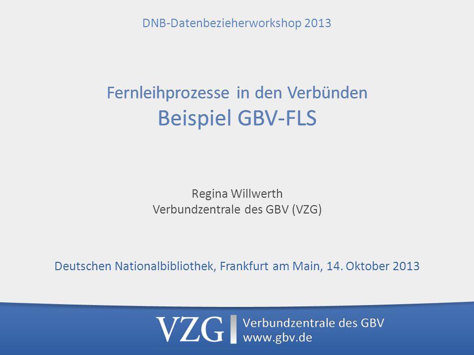 GVK ZDB ZDB GVK Bestands-Updates