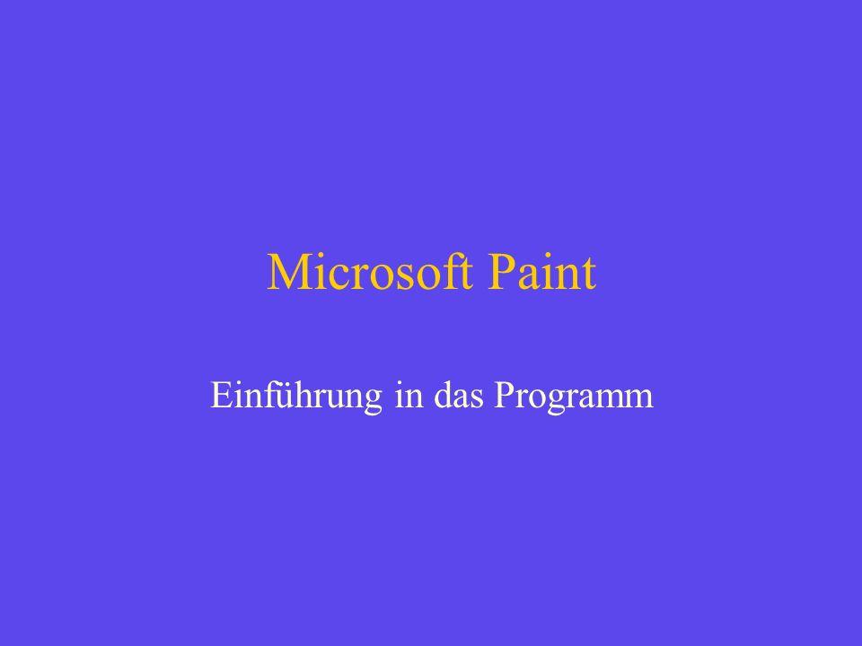 Einführung in das Programm