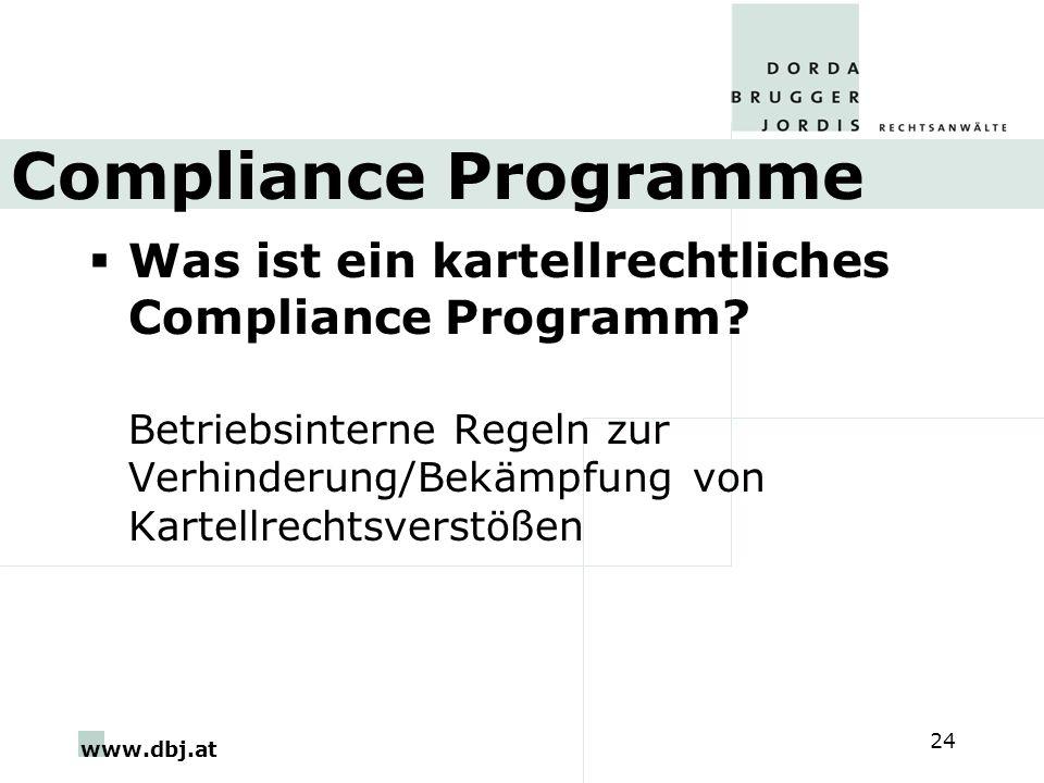 Compliance Programme Was ist ein kartellrechtliches Compliance Programm