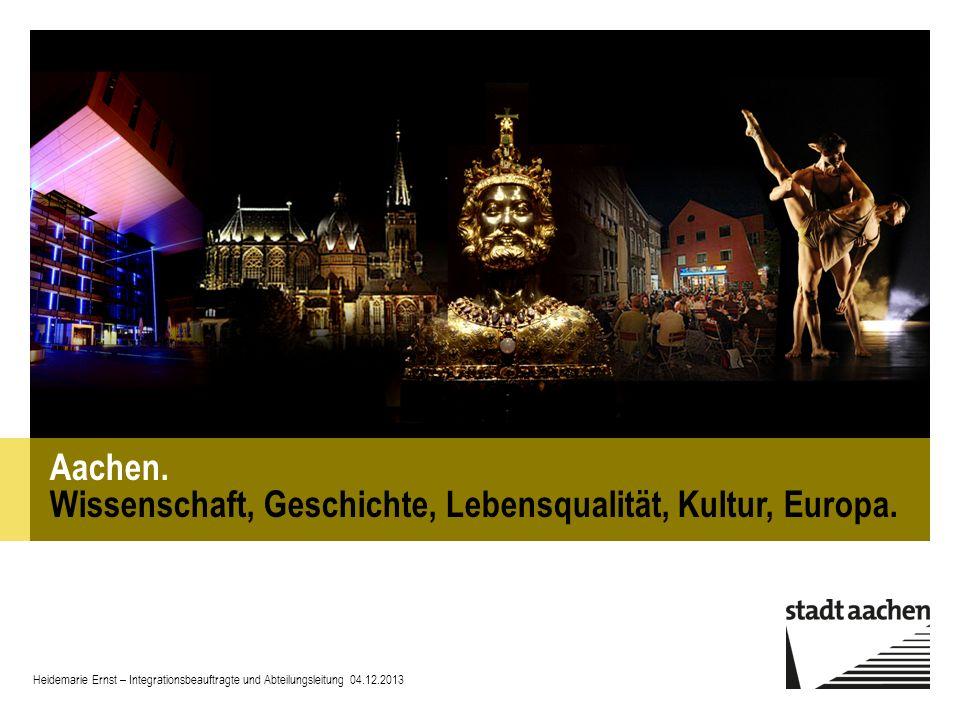 Heidemarie Ernst – Integrationsbeauftragte und Abteilungsleitung 04.12.2013