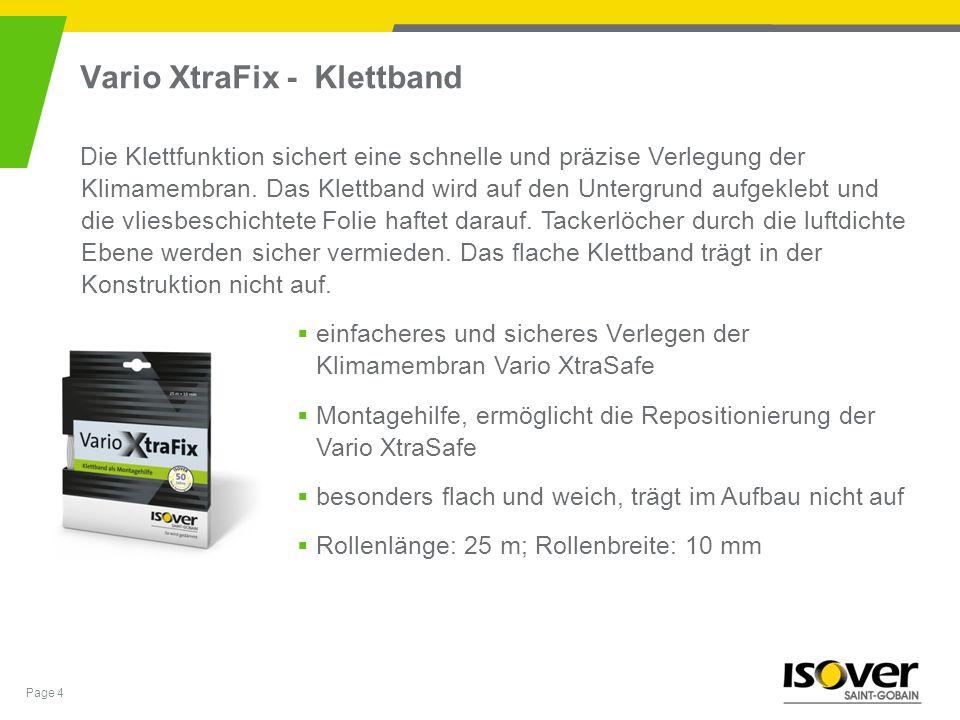 Vario XtraFix - Klettband