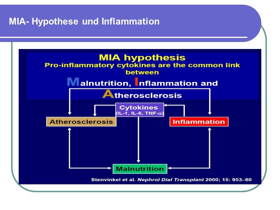 MIA- Hypothese und Inflammation