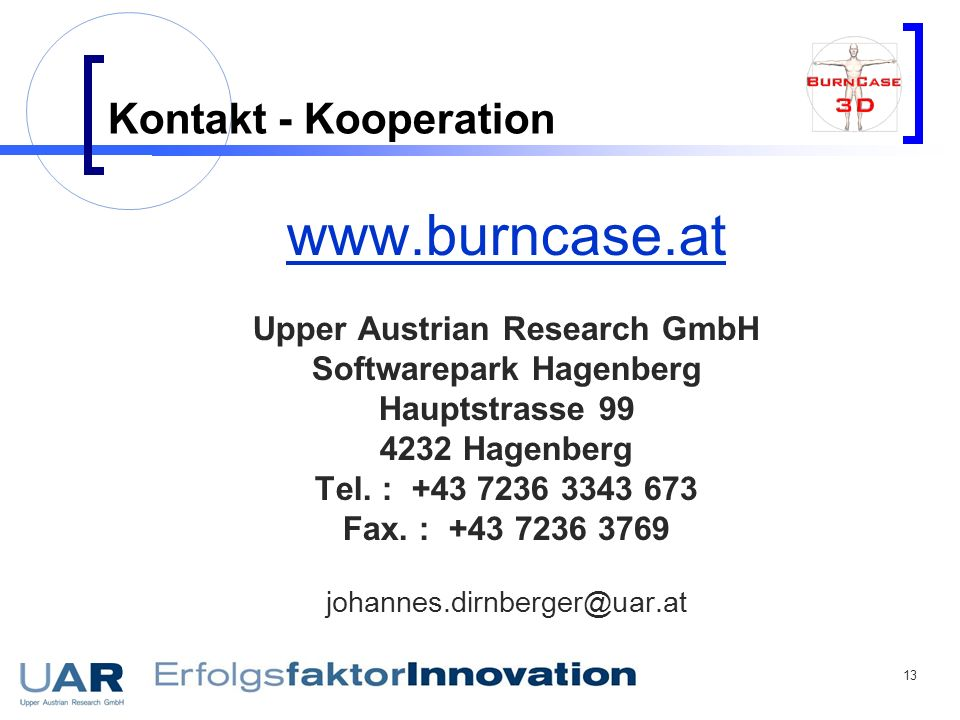 Upper Austrian Research GmbH Softwarepark Hagenberg