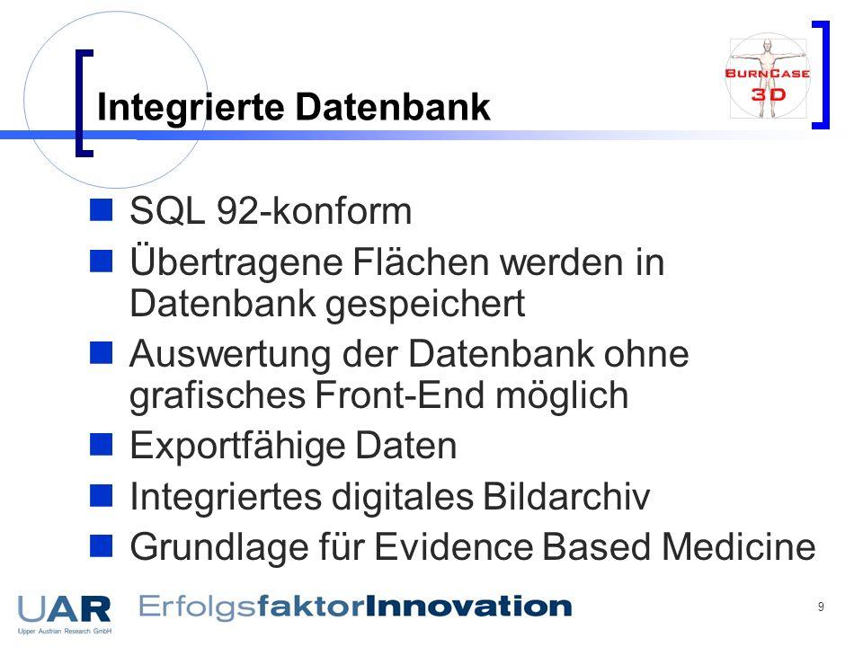 Integrierte Datenbank