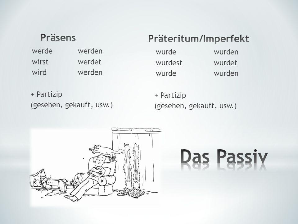 Präteritum/Imperfekt