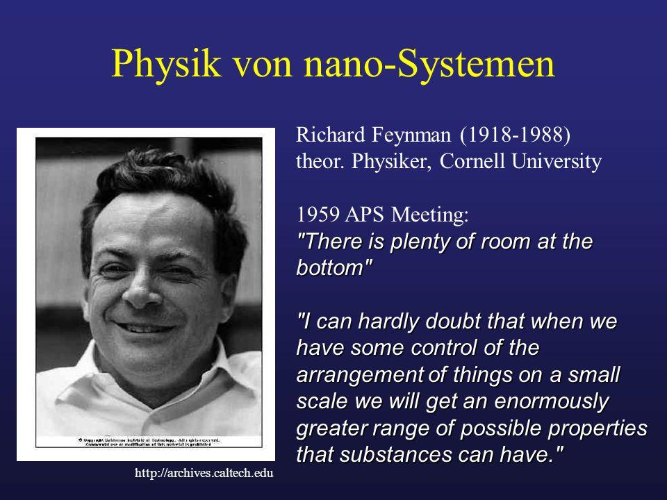 Physik von nano-Systemen