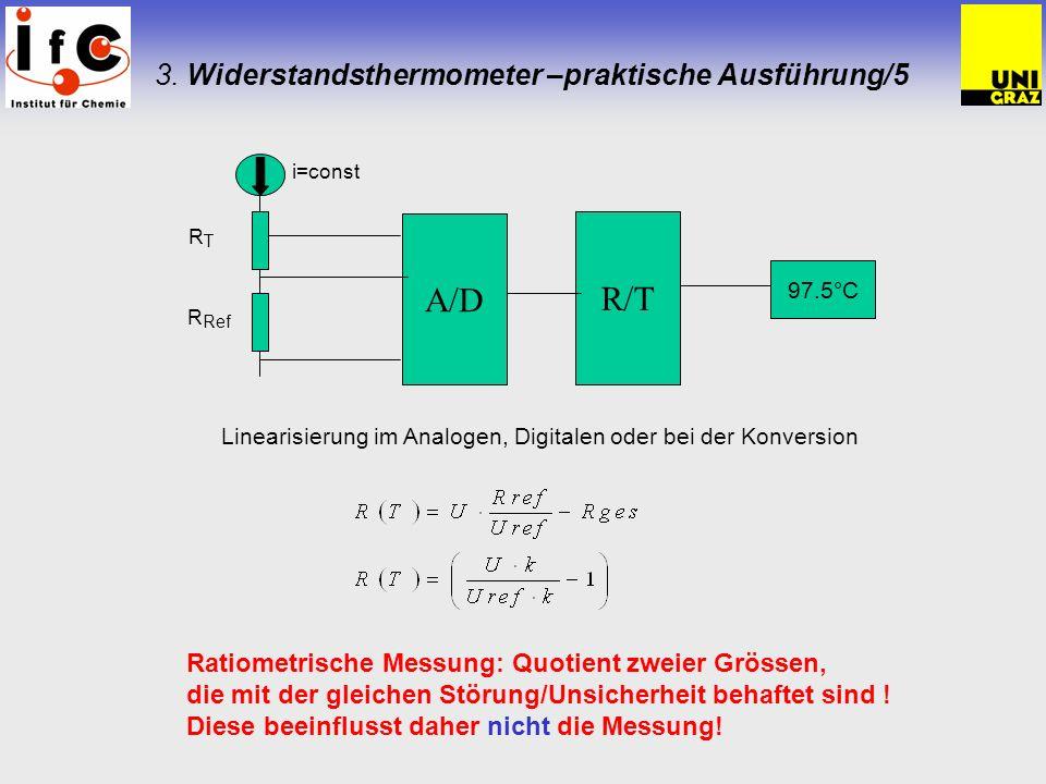 3. Widerstandsthermometer –praktische Ausführung/5