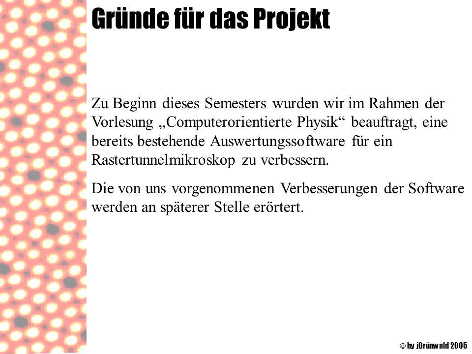Gründe für das Projekt