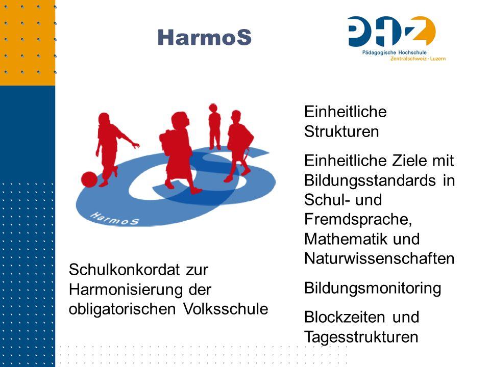 HarmoS Einheitliche Strukturen