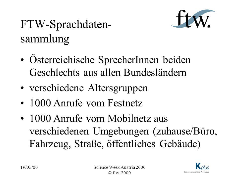 FTW-Sprachdaten-sammlung