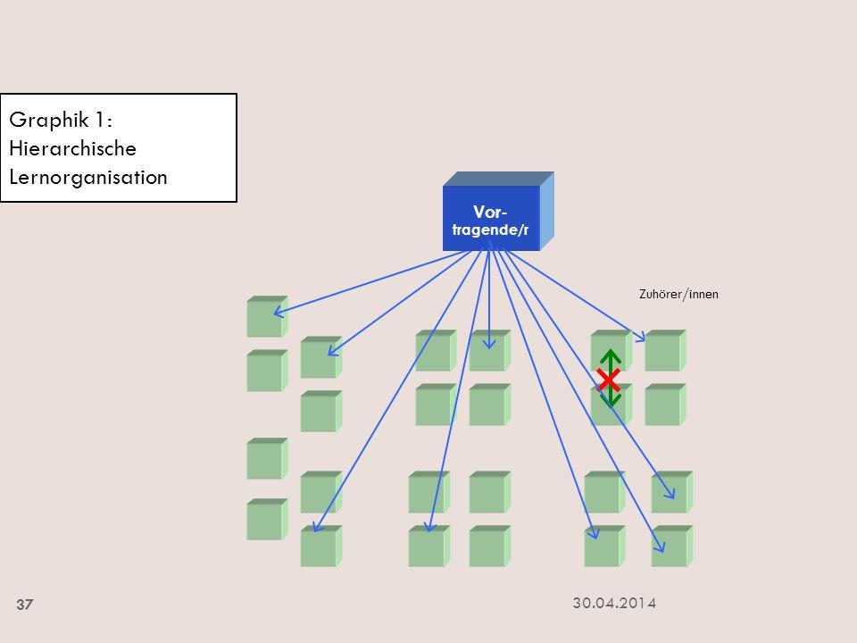 Graphik 1: Hierarchische Lernorganisation