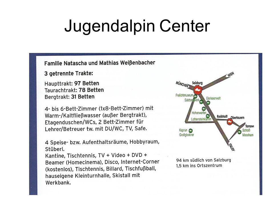 Jugendalpin Center
