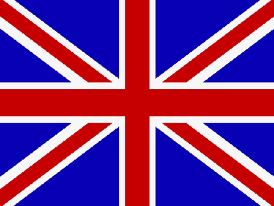 """Die Flagge """"Union Jack"""