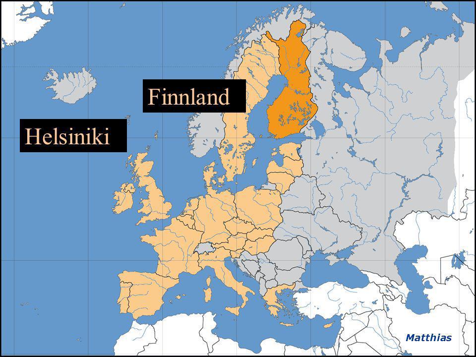 Finnland Helsiniki Matthias