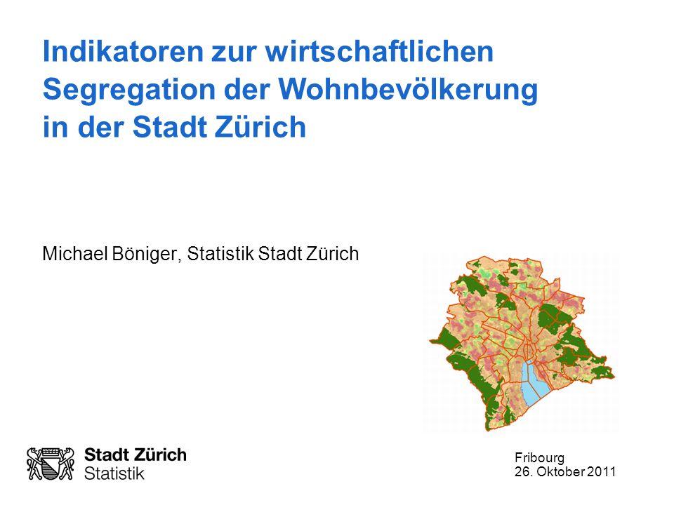 Michael Böniger, Statistik Stadt Zürich
