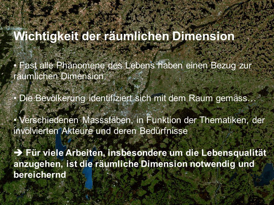 Wichtigkeit der räumlichen Dimension