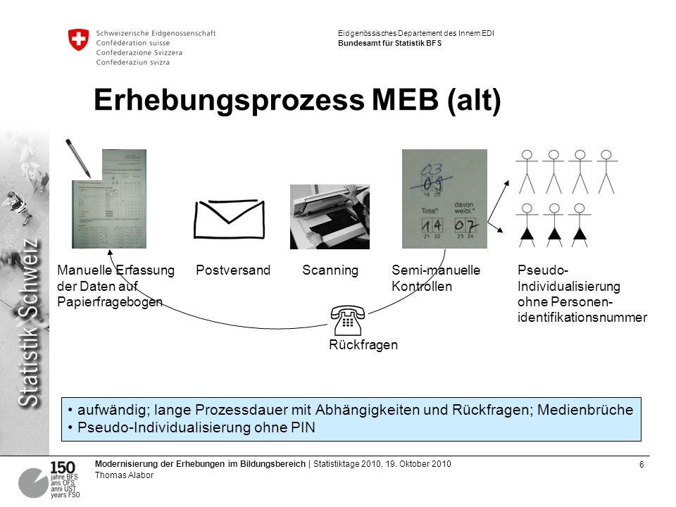 Erhebungsprozess MEB (alt)
