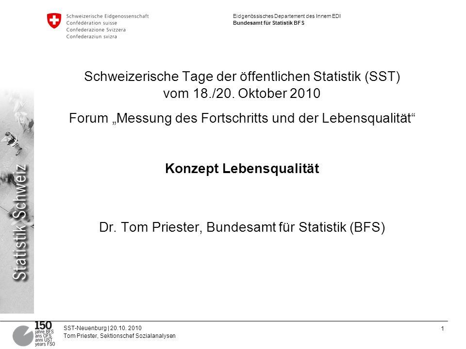 """Forum """"Messung des Fortschritts und der Lebensqualität"""