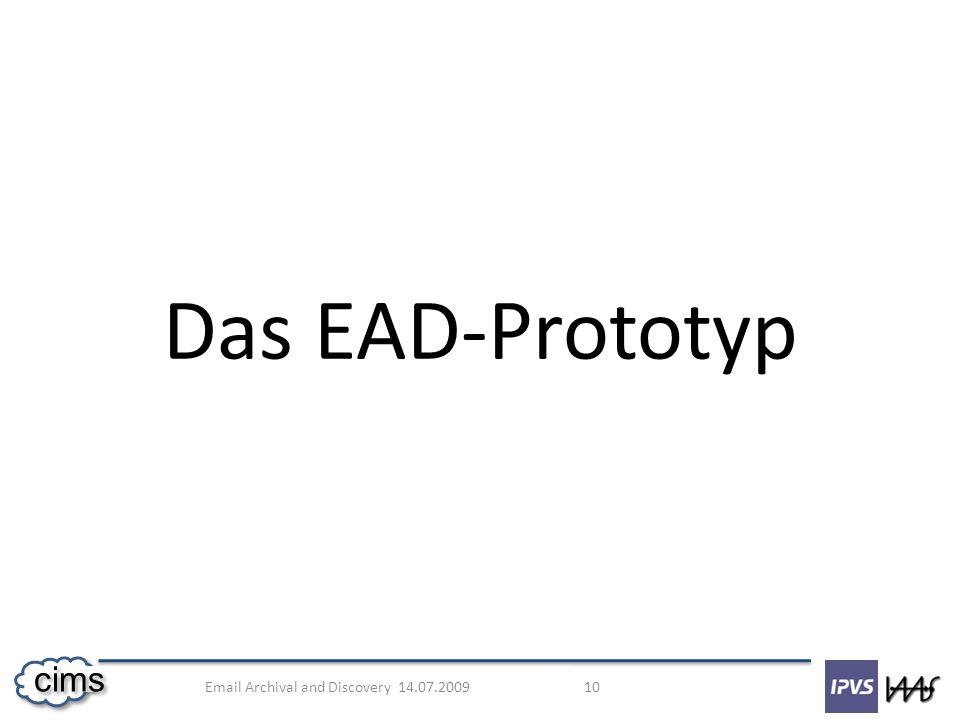 Das EAD-Prototyp