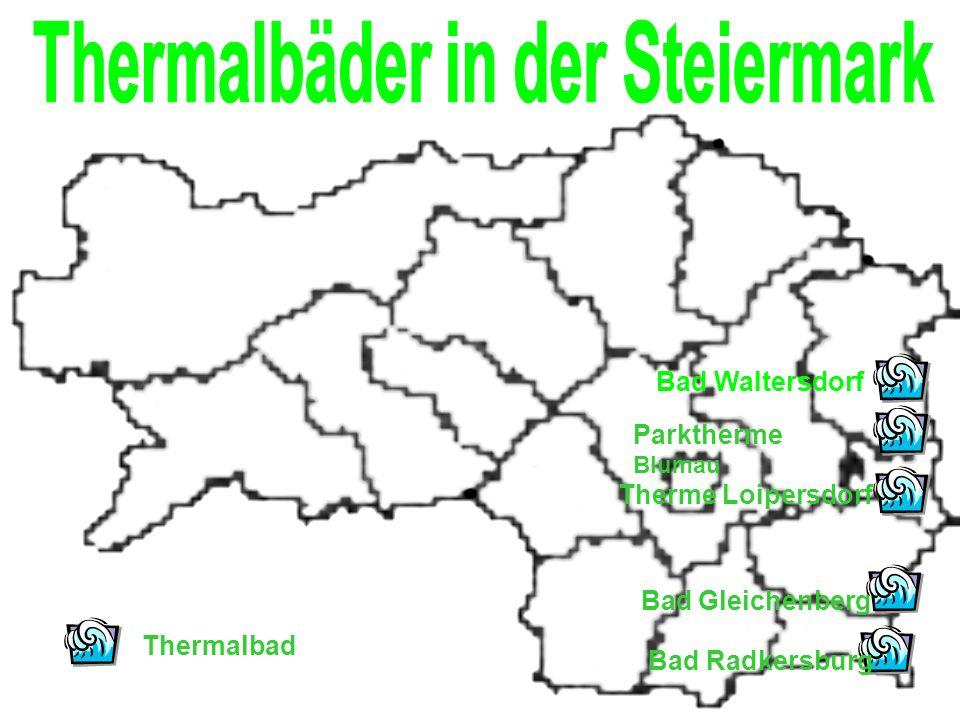 Thermalbäder in der Steiermark